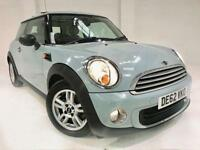 2012 62 MINI HATCH ONE 1.6 ONE 3D 98 BHP