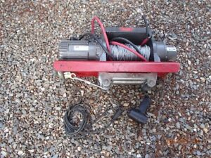 Warn winch 9500 pound 150 foot winch 1/4 inch cable