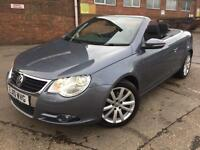 Volkswagen Eos 1.4 TSI 2010 SE Manual Convertible Grey
