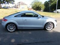 Audi TT 2.0 TFSI++10 SERVICE STAMP HISTORY+FULL LEATHER TRIM++ (silver) 2007
