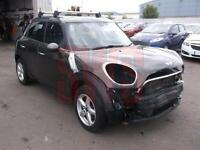 2013 Mini Countryman 1.6 Cooper D 5dr DAMAGED REPAIRABLE SALVAGE
