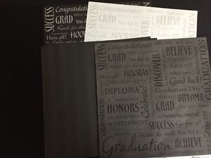 School/Graduation Paper and stickers Prince George British Columbia image 2