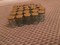 24 brand new Glass jars