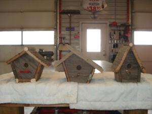 BIRD HOUSES FOR SALE $30 each OBO