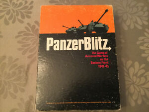 Panzer Blitz tactical board game by Avalon Hill