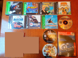 PlayStation 1 And 2 Games ($10 Each)