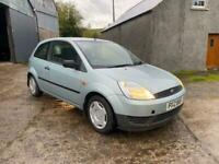 2004 FORD FIESTA 1.25 FINESSE FULL YEARS MOT DRIVES WELL TRADE INTO CLEAR