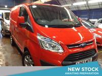 2013 FORD TRANSIT CUSTOM 2.2 TDCi 125ps Low Roof 290 L1 Limited