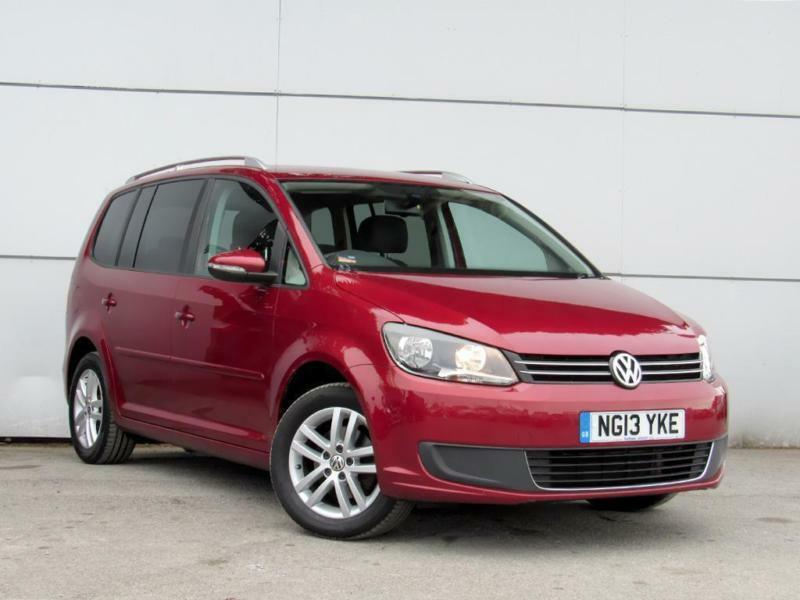 2013 VOLKSWAGEN TOURAN 1.6 TDI 105 BlueMotion Tech SE MPV 7 Seats