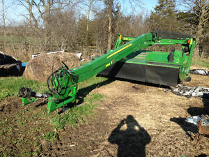 2010 johndeere moco discbine mower