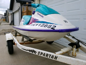 SEADOO BOMBARDIER SP WITH TRAILER!!