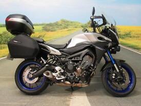 Yamaha MT-09 Tracer *545 miles Yamaha panniers Givi Top box*