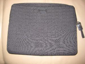 Authentic Coach Signature Black Laptop Bag