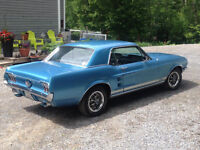 Brittany Blue GTA  MUSTANG 1967