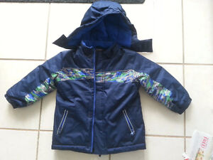 Boys toddler Coat and Snowsuit