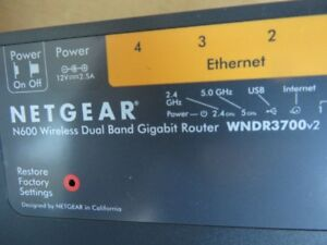 ROUTER...NETGEAR  N600 Wireless Dual Band Gigabit