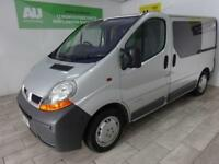 SILVER RENAULT TRAFIC 1.9 SL27DCI SWB ***FROM £28 PER WEEK***