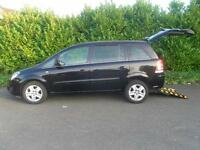 Vauxhal Zafira 1.8i 16v VVT 2011MY Exclusiv Wheelchair accessible Vehicle 4 seat