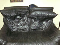 Back Leather couch