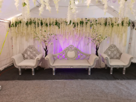Wedding&medhi stage hire from£250