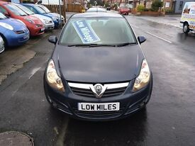 2007 07 New shape Vauxhall Corsa SXI one from new Full main dealer service history only 60 K miles