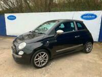 2009 Fiat 500 1.2 500 byDIESEL 3 Door Petrol Car In Black