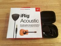 iRig Acoustic Guitar Microphone/Interface for iOS
