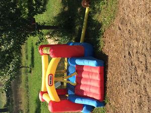 Little tyke bouncy castle