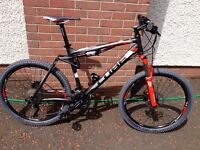 "Cube XMS 120 26"" Full Suspension Mountain Bike"