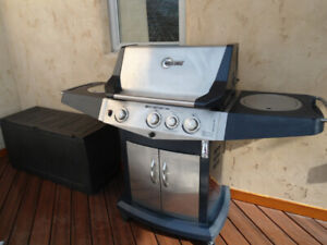 Blue Ember BBQ Grill w/Side Burner & Tools