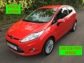 2009 FORD FIESTA TITANIUM / PX WELCOME / WE DELIVER