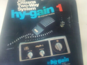 40 CHANNEL CB HY-GAIN NEW IN THE BOX NOS