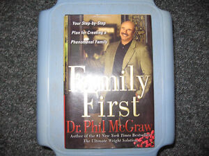Dr. Phil - Family First (Hard Cover NEW)