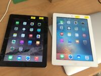iPad 4th generation 16gb 4G wifi black & white unlocked immaculate condition