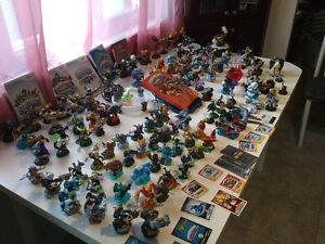 Collection presque complete,Skylander.  WII