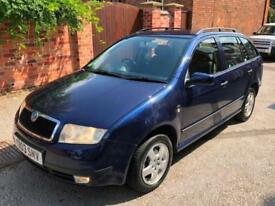 Skoda Fabia 1.9TDi Elegance Estate, FSH, MOT APRIL 19, SONY STEREO, VGC, PX SALE
