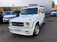 2004 Mercedes-Benz G Class G55 AMG LONG   BRABUS BODYKIT   VAT Q Petrol white Au