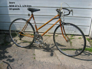 Sears road bicycle