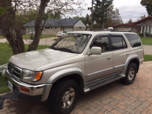 1998 Toyota 4Runner SUV - Good Condition! Drives Great!