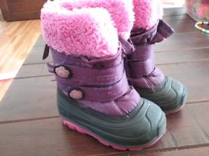Bottes d'hiver Kamik pour fille gr. 5