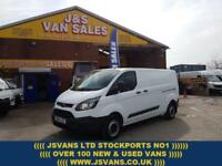 2014 14 FORD TRANSIT CUSTOM 2.2 290 LR P/V LONG WHEEL BASE CUSTOM 89000 MLS DIE