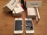 Two Apple iPhone 4G S  32GB