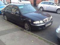 Rover 45 and Ford Fiesta