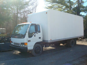 Camion Cube 6 roues GMC W 5500