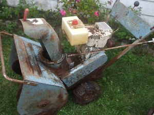 Old Sears Snow Blower