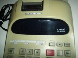 Calculatrice électrique