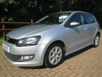 11/11 VOLKSWAGEN POLO BLUEMOTION 1.2 TDI 5DR HATCH IN MET SILVER