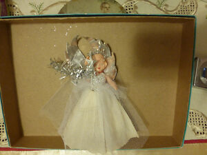 Vintage 1950's Christmas Angel Tree Topper