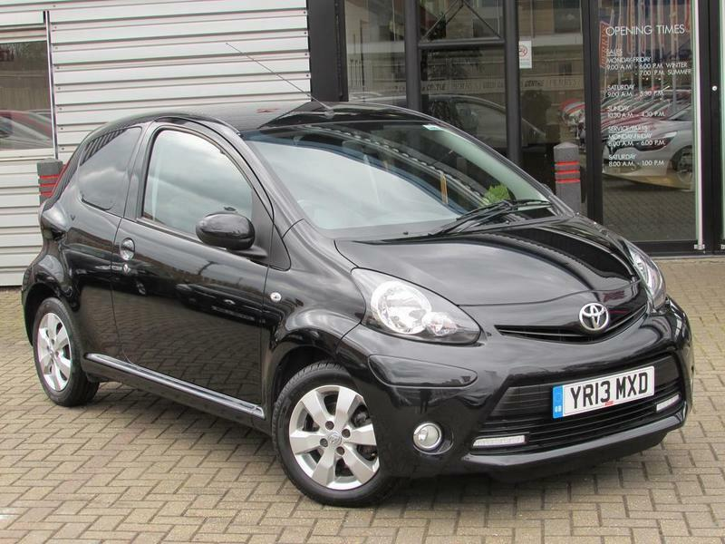 Toyota Aygo 10 Vvt I Fire 3 Door Great 1st Car Black 2013 In