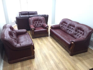 MOVING SALE!! COUCH SETS- DINING ROOM SET - KING SIZE BED SET +